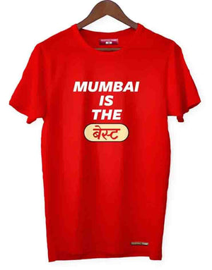 Mumbai Is The Best Red Tee