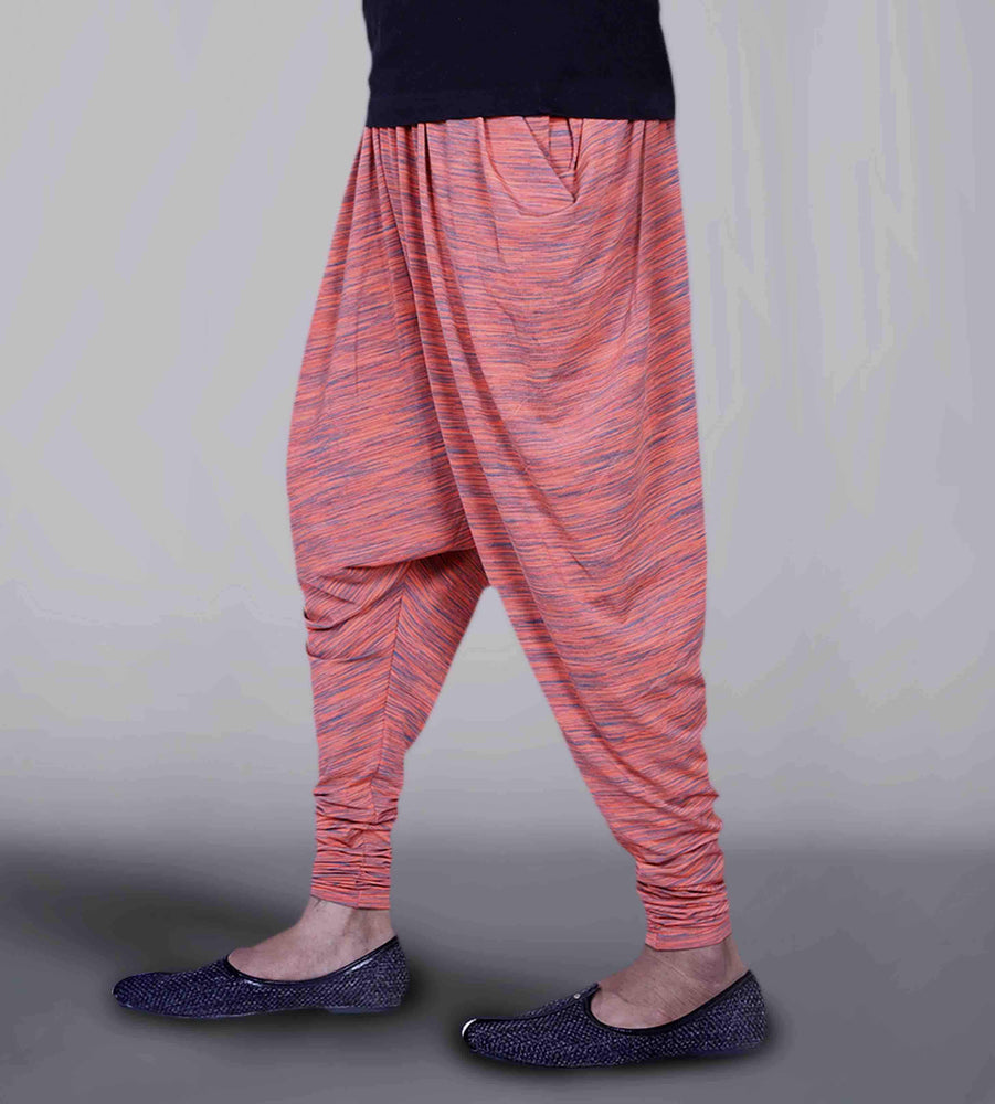 Neon Orange Jodhpuri Joggers