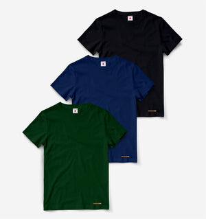 Pack of 3 Half Sleeve Tees C3