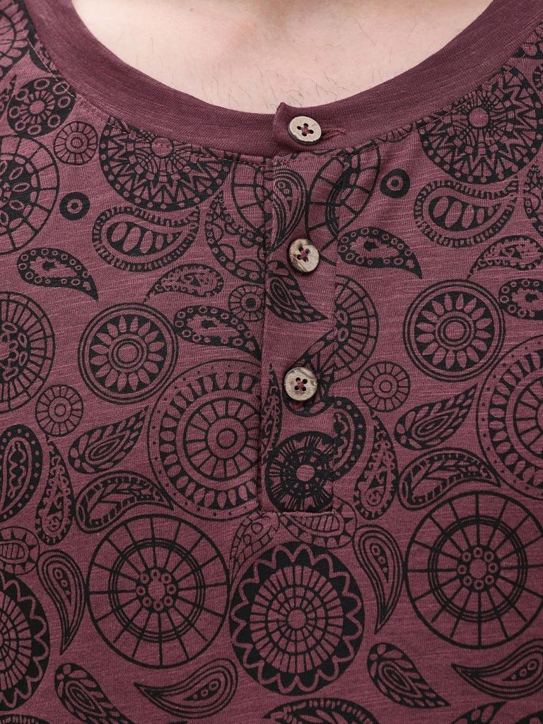Paisley Long Sleeve Kurta