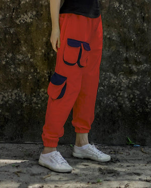 Red Street Unisex Gully Pants
