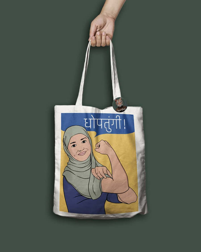 Safeena x Dhoptungi Tote Bag