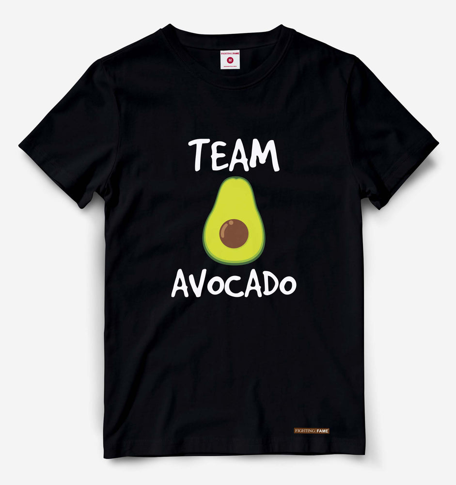 Team Avocado Black Tee