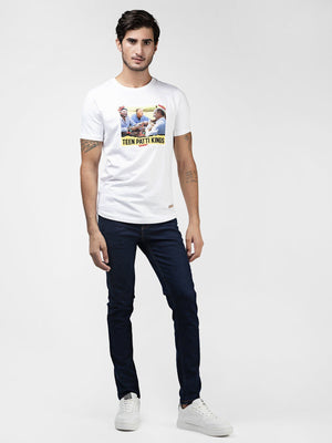 Teen Patti Kings White Tee