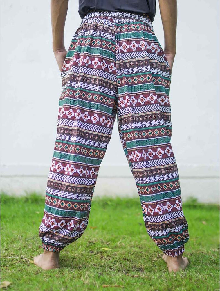 Traditional Stripe Unisex Aaram Pants