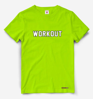 Workout Neon Green Tee