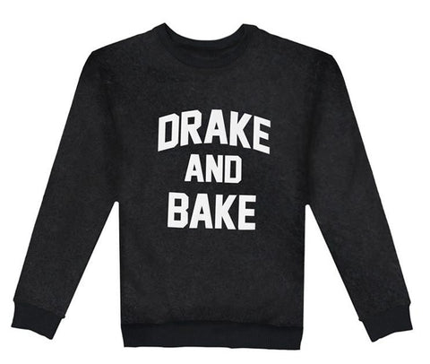 DRAKE AND BAKE Black Sweatshirt