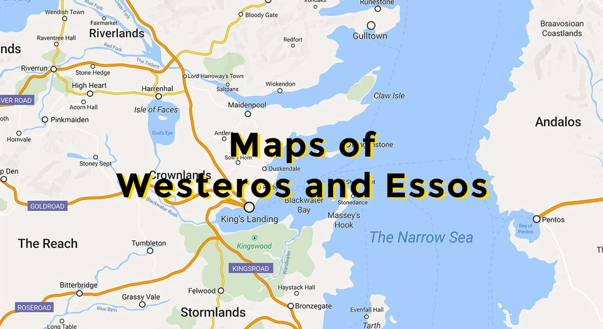 photograph relating to Free Printable Map of Westeros called Maps of Westeros and Essos - Match of Thrones Ground breaking Maps