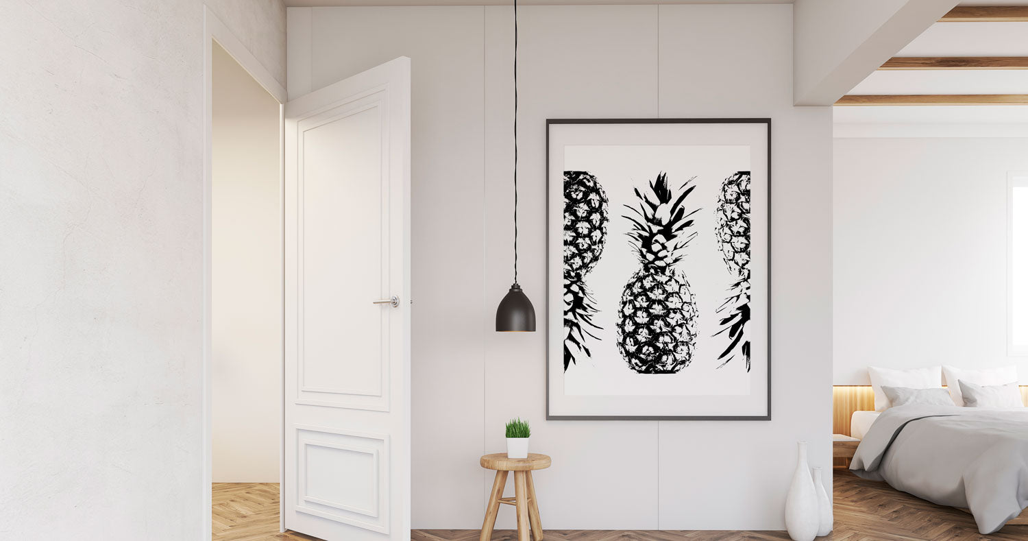 11 Stunning Black & White Posters for Interior Design