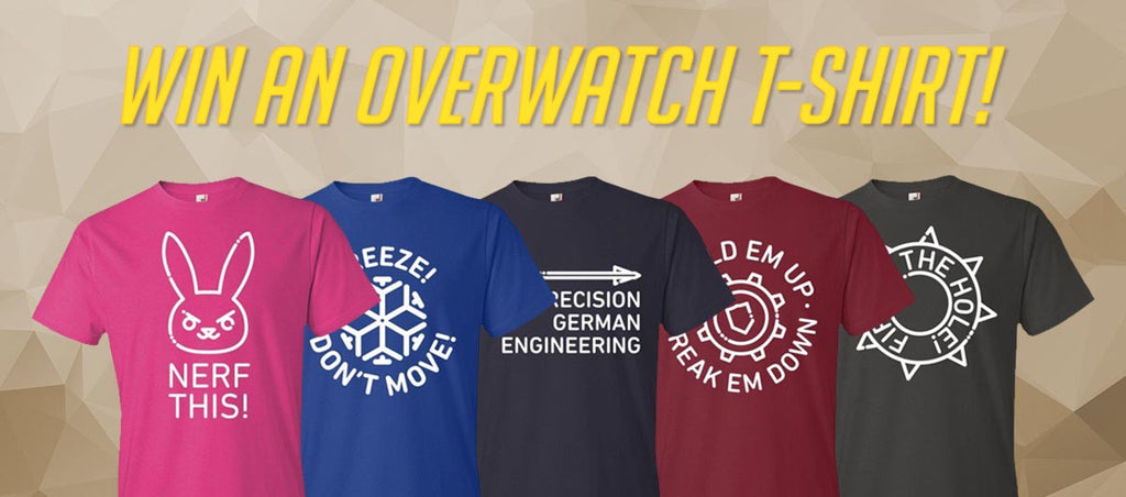 Overwatch Line Art T-Shirt