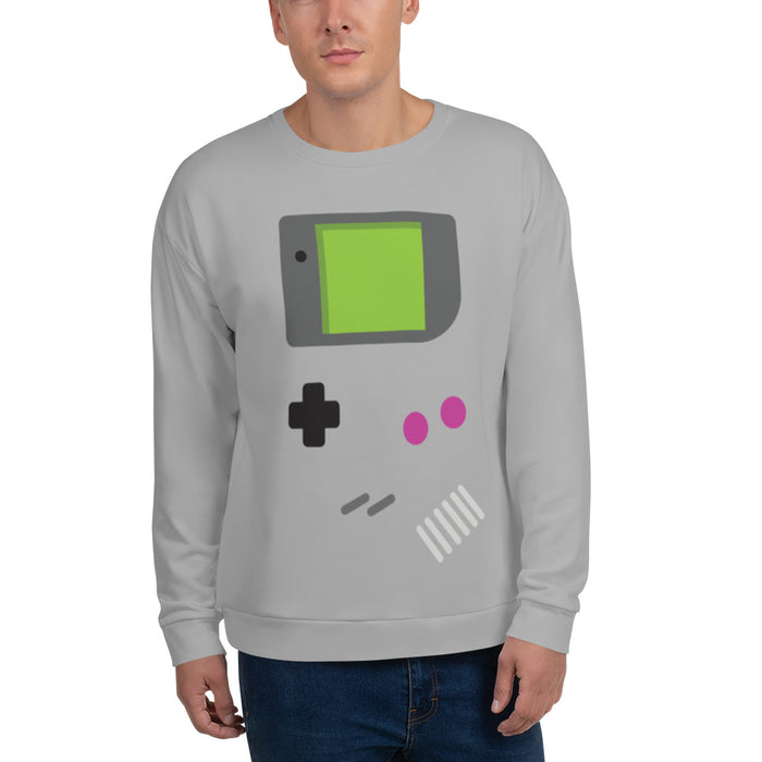 GameDude - Unisex All-Over Sweatshirt - Sweatshirt at Mongolife