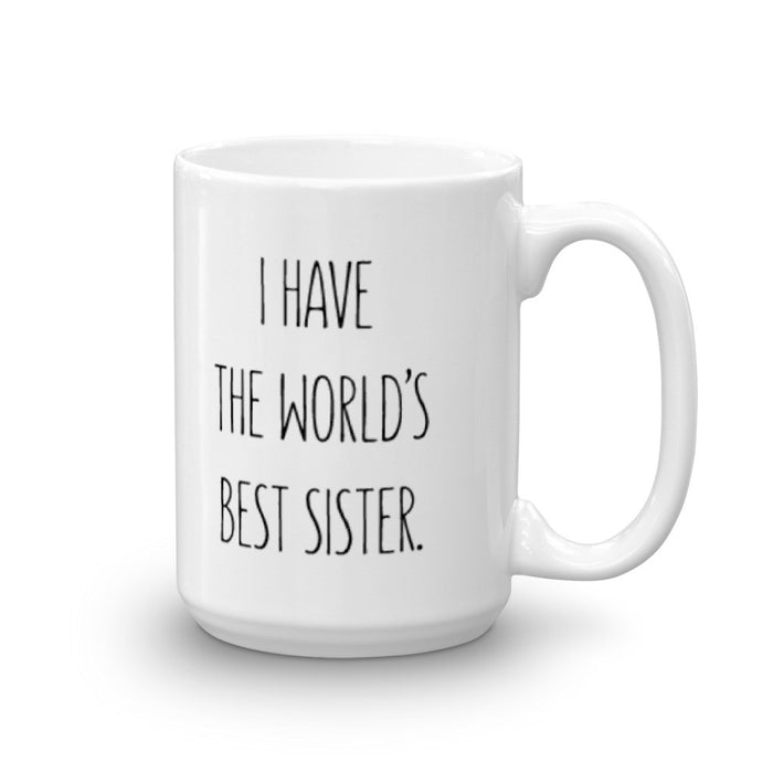 World's Best Sister - Mug - Mug at Mongolife