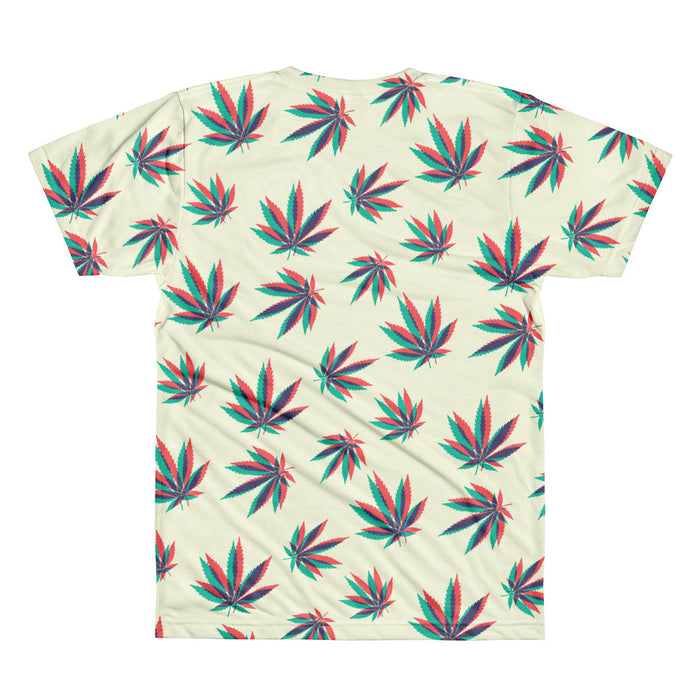 Weed 3D - All-Over T-Shirt - T-Shirts at Mongolife