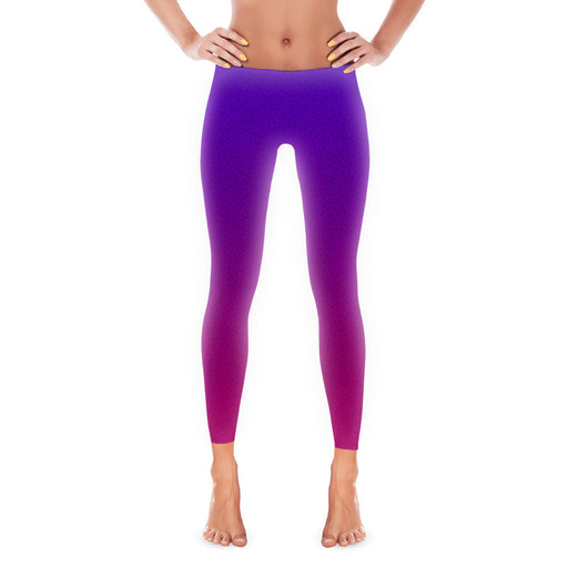 Purple Blast - Leggings - Leggings at Mongolife