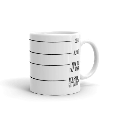 Levels of Coffee - Mug