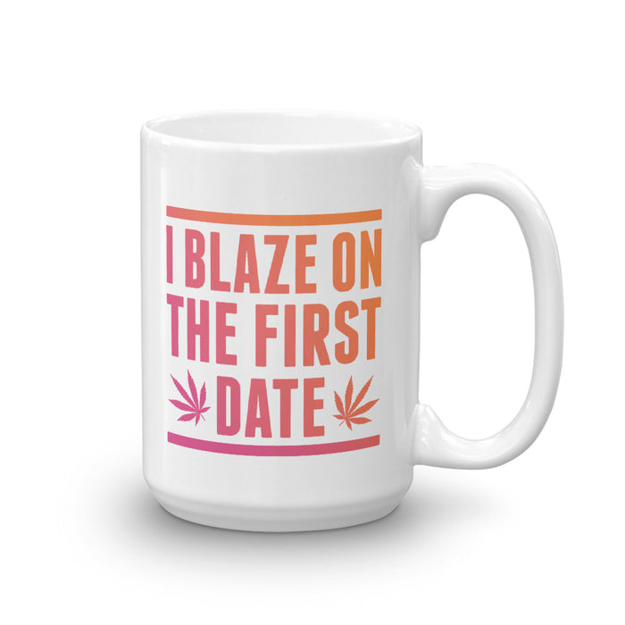 First Date Blaze - Mug - Mug at Mongolife