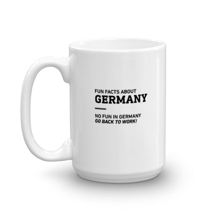 Fun Facts About Germany - Mug - Mug at Mongolife