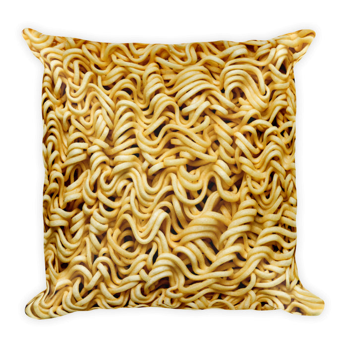 Ramen - Square Pillow - Pillows at Mongolife