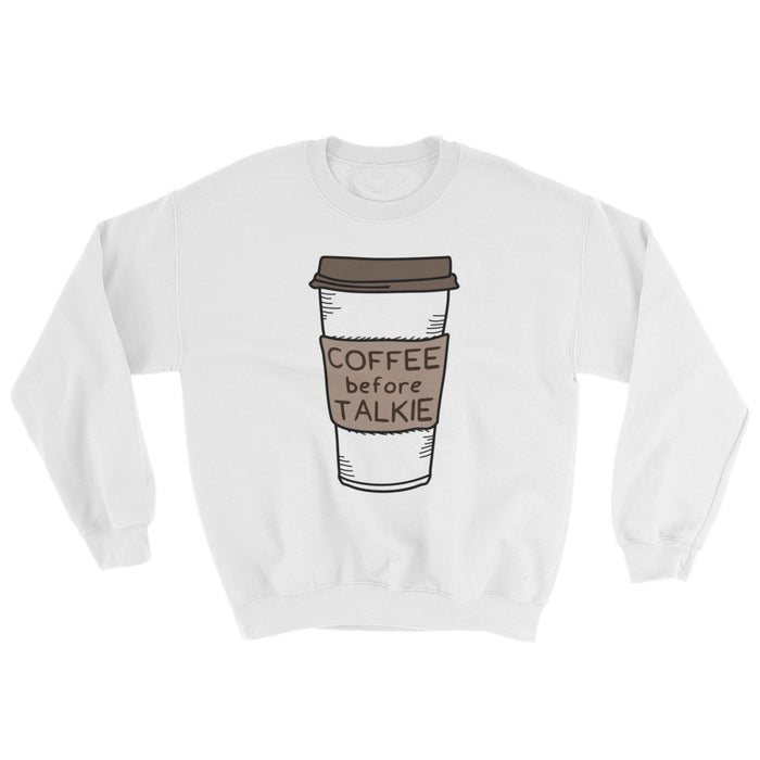 Coffee Before Talkie - Sweatshirt - Sweatshirt at Mongolife