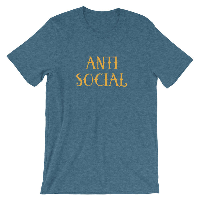 Anti Social - Unisex T-Shirt - T-Shirts at Mongolife