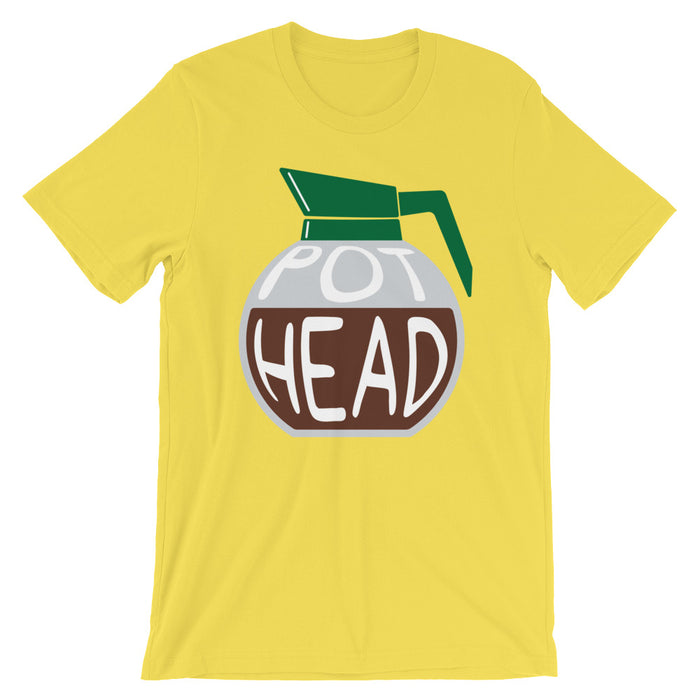 Pot Head - Unisex T-Shirt - T-Shirts at Mongolife