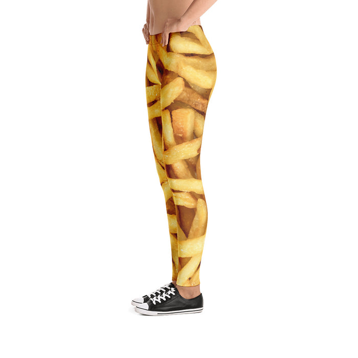 French Fries - Leggings - Leggings at Mongolife