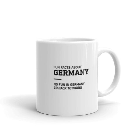 Fun Facts About Germany - Mug
