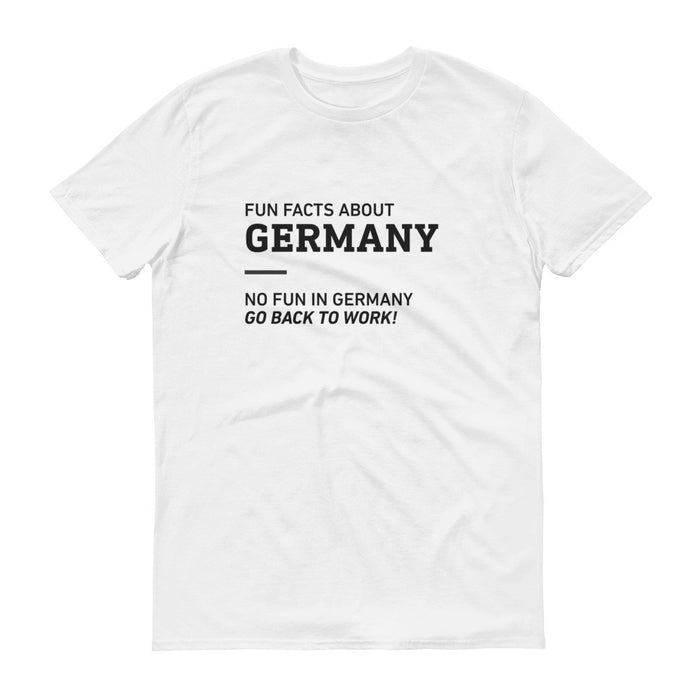 Fun Facts About Germany - Unisex T-shirt - T-Shirts at Mongolife