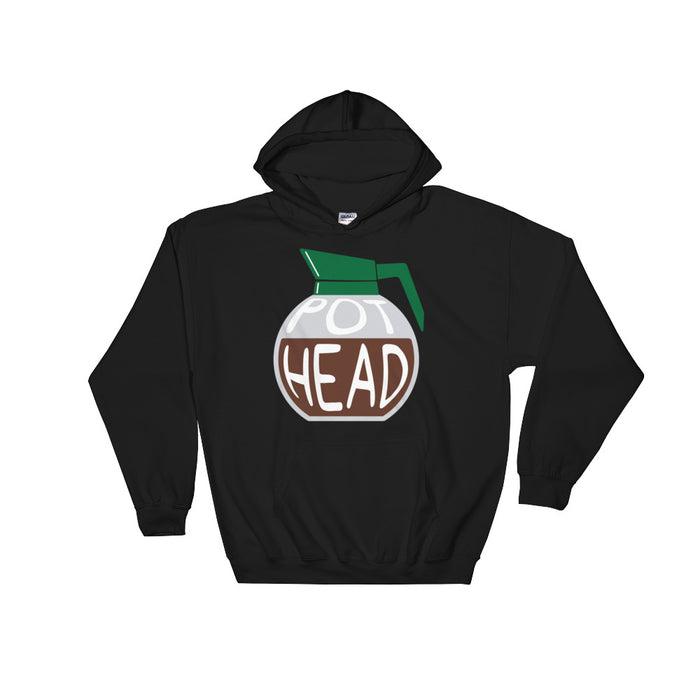 Pot Head - Hoodie - Hoodie at Mongolife