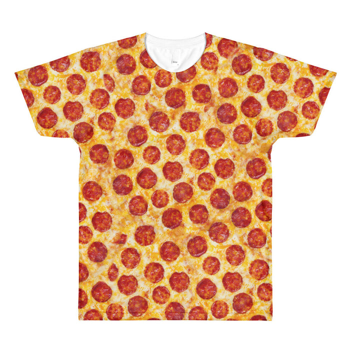 Pizza Overload - All-Over T-Shirt - T-Shirts at Mongolife