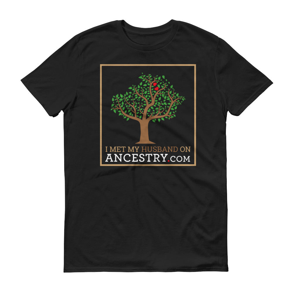 I Met My Husband on Ancestry.com - Unisex T-Shirt - T-Shirts at Mongolife