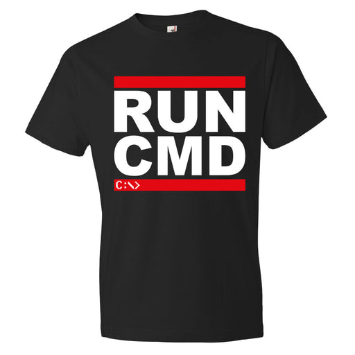 Run Cmd - Unisex T-Shirt - T-Shirts at Mongolife
