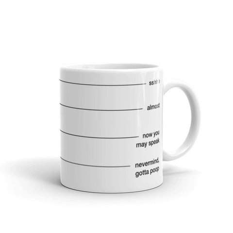 Levels of Coffee 2 - Mug