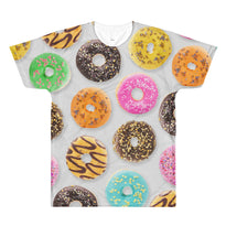 Donuts - All-Over T-Shirt - T-Shirts at Mongolife
