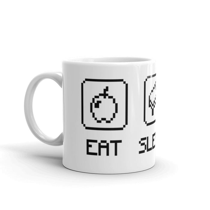 Eat Sleep Mine - Mug - Mug at Mongolife