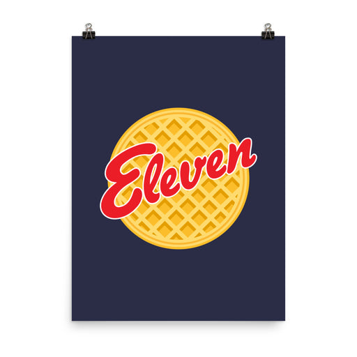 Eleven Eggo - Poster - Posters at Mongolife