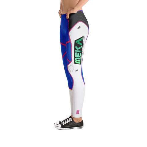 D.Va Leggings Side View - Overwatch Cosplay - Mongolife.com
