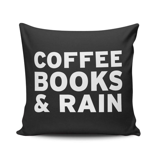 Coffee Books & Rain - Pillow - Pillows at Mongolife