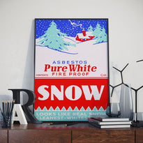 Pure White Snow - Poster - Posters at Mongolife