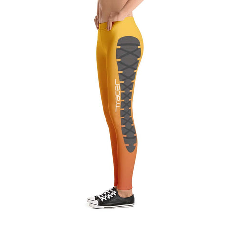 Side View - Tracer Leggings - Overwatch Cosplay