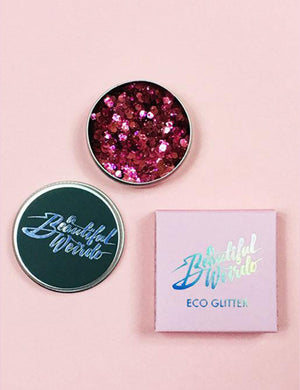 A Beautiful Weirdo Eco Glitter - Disco Doll Pink