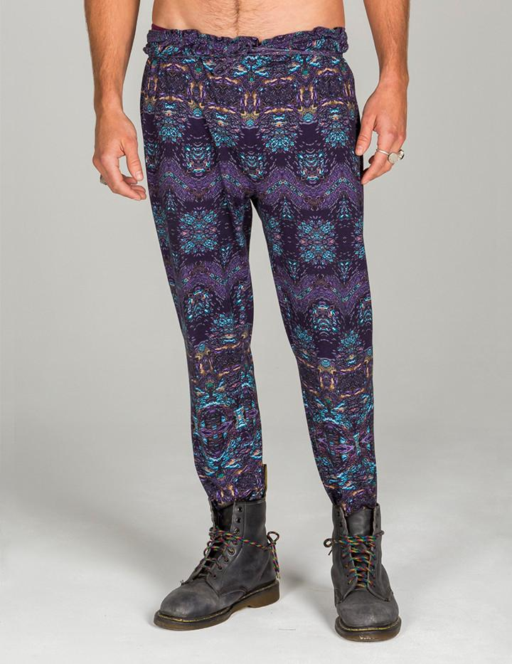 Luminescent Unisex Harem Pants