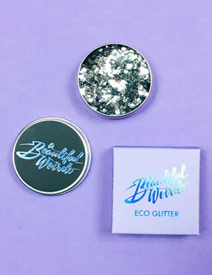 A Beautiful Weirdo Eco Glitter - Straight Up Silver