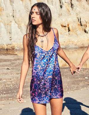 Indigo Child Slip Dress