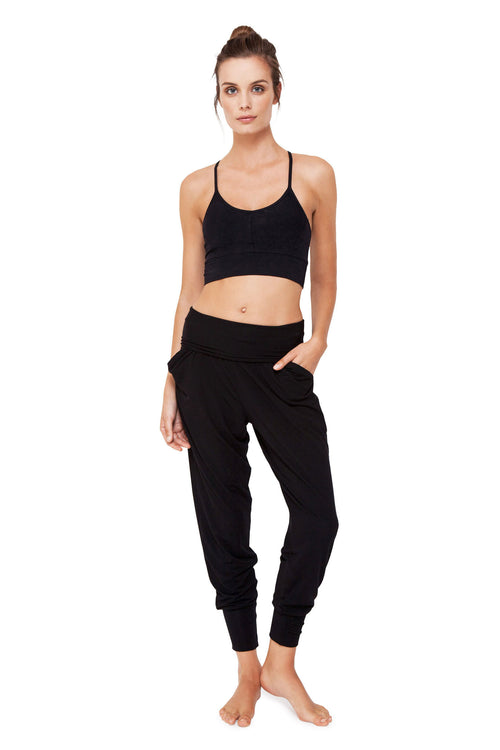 Dharma Bums Relax Pants - Black
