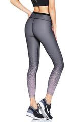 Nimble Activewear Lauren 7/8 Tights - Grey Splash