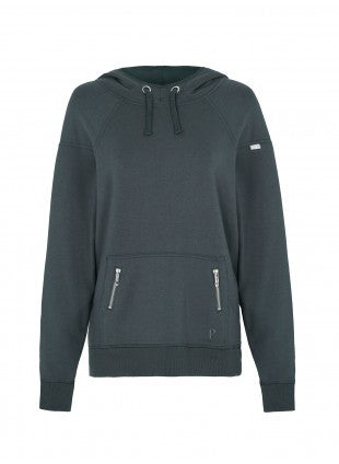 Pilot Allana Hooded Sweater - Charcoal Grey