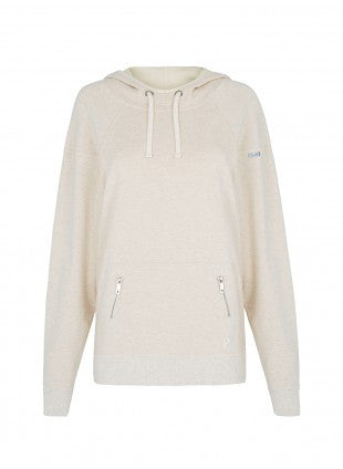 Pilot Allana Hooded Sweater - Natural Marle