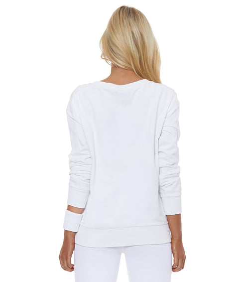 Lurv Early Morning Sweater - White
