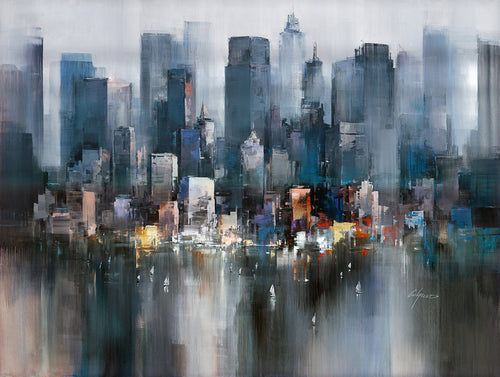 Wilfred Lang - Evening Colours NYC